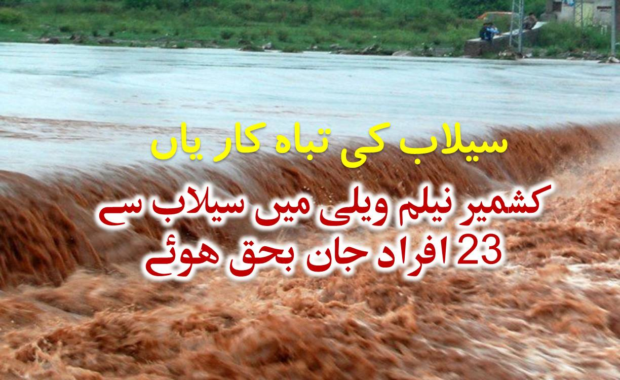 At least 28 dead, dozens missing after Neelum Valley flash floods