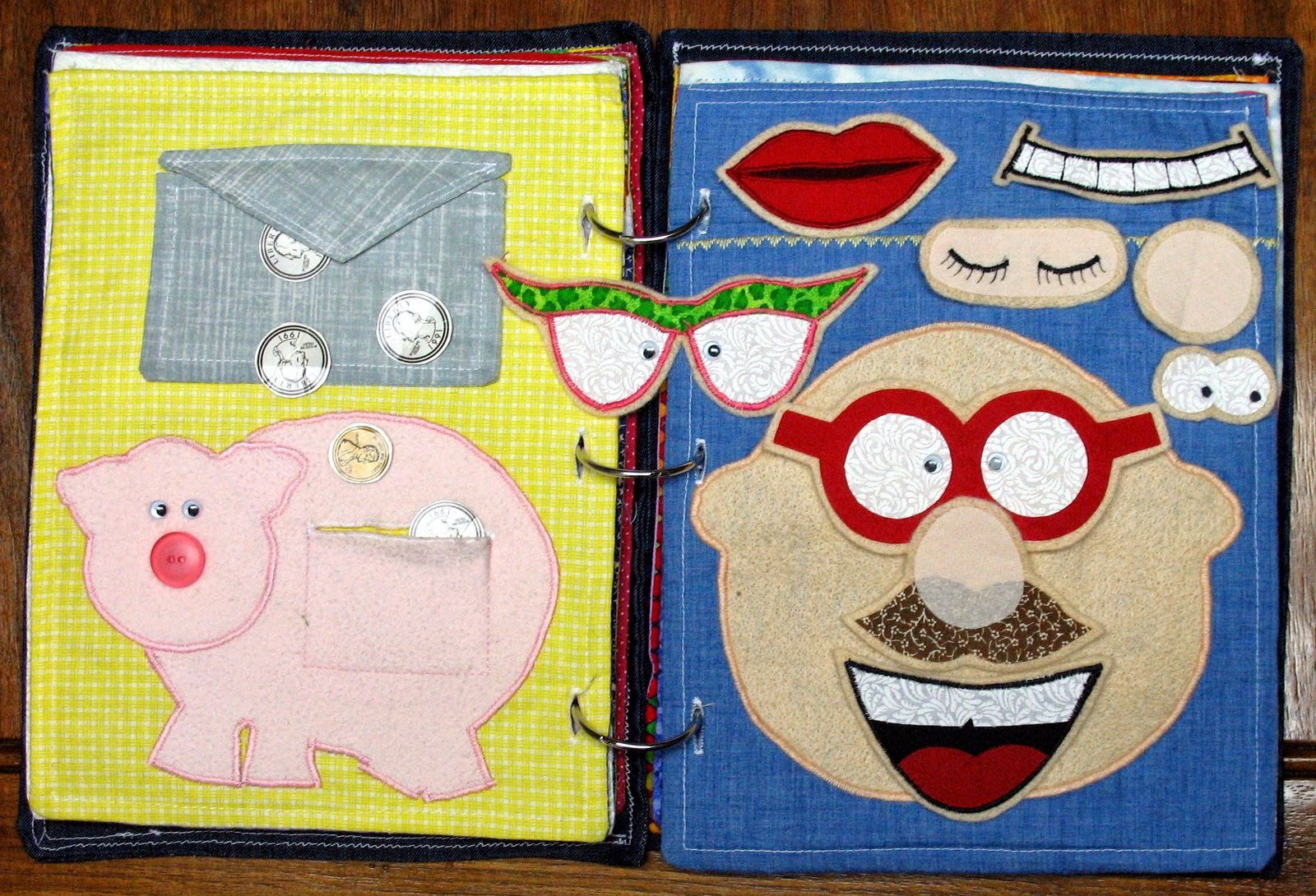 The Craft Patch: Repost: Fabric Quiet Book