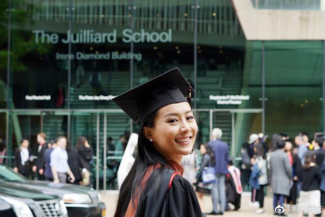 Fala Chen Julliard School graduate
