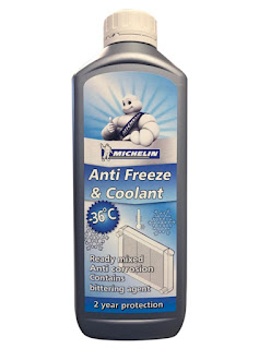 Michelin Anti Freeze and Coolant protects your vehicle radiators from freezing or overheating