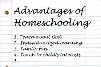 The Real Homeschooling Advantages - When You Place Everything in Setting