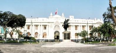 Foto del Congreso de la República del Perú (Poder Legislativo) a color