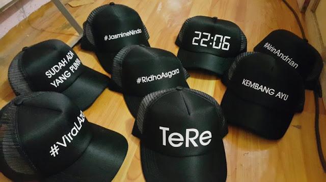 Bikin Topi Custom