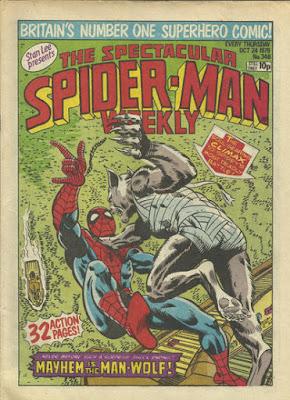 Spectacular Spider-Man Weekly #346, Man-Wolf