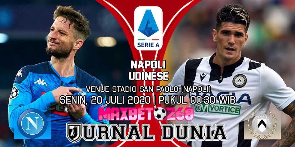 Prediksi Napoli vs Udinese 20 Juli 2020 Pukul