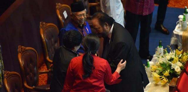 Sempat Dikira Tak Datang Ke Nasdem, Jokowi: Lho, Jangan Ragukan Saya Pak