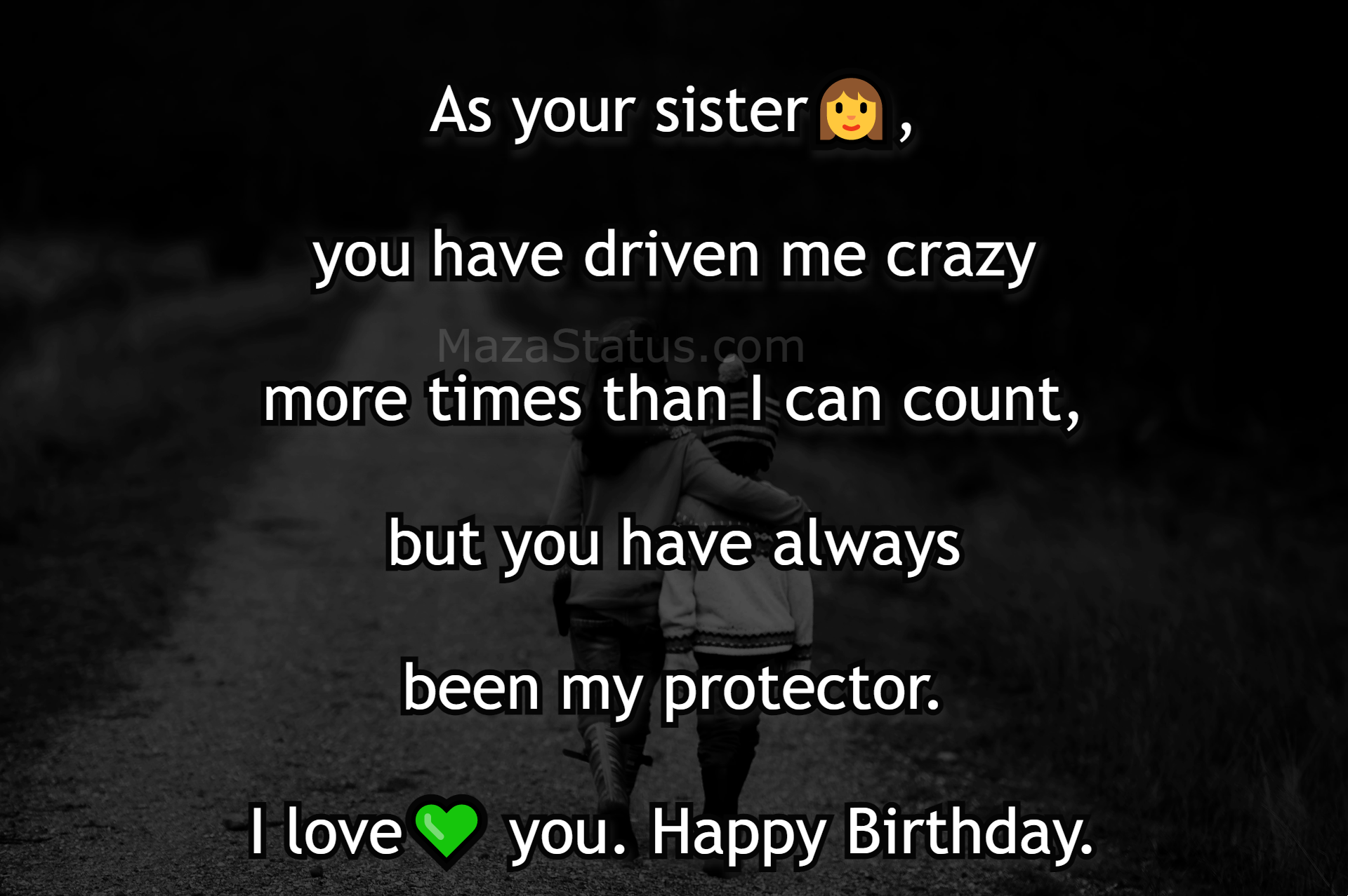 Birthday Wishes for Brother from Sister