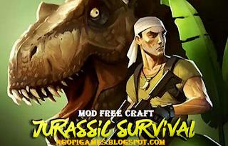Download Jurassic Survival Mod Apk Unlimited Money