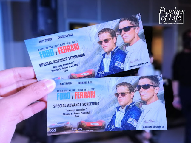 Ford v Ferrari Special Advance Screening at Power Plant Mall