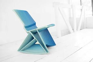 Мебель из переработанных материалов – 3D принтер в деле