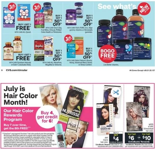 CVS Weekly Ad Preview 7/4-7/10