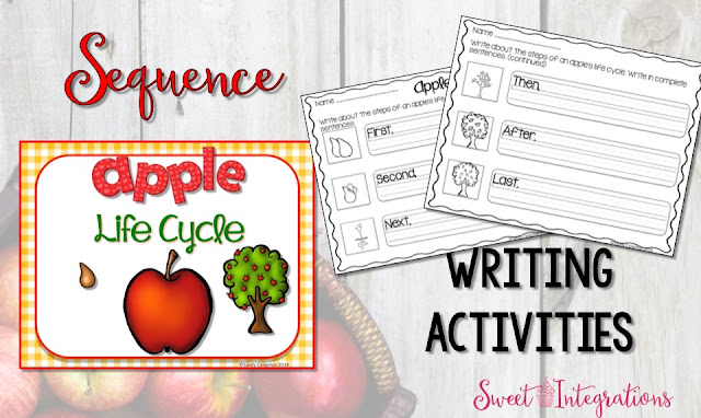 September is the time to learn about the apple life cycle. I've listed a few engaging activities for your students. This post comes with a FREEBIE.
