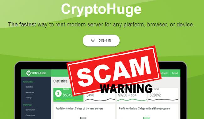 Update CryptoHuge Scam, Berikut Bukti dan Penjelasannya!
