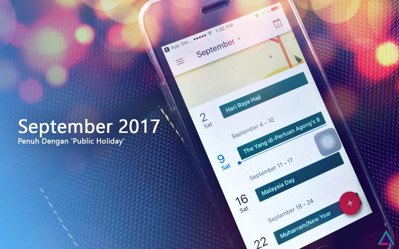 Kalender September 2017 Penuh Dengan Cuti Umum Malaysia