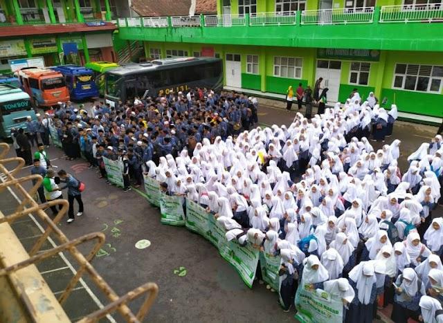 Gerakan Cinta Masjid Ajak Santri Contoh Ajaran Nabi Muhamad SAW Mencintai dan Memakmurkan Masjid