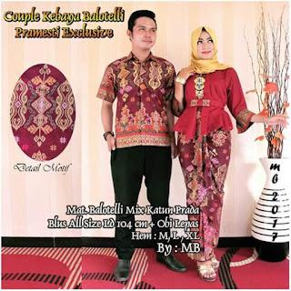 Batik Couple Kebaya Pramesti