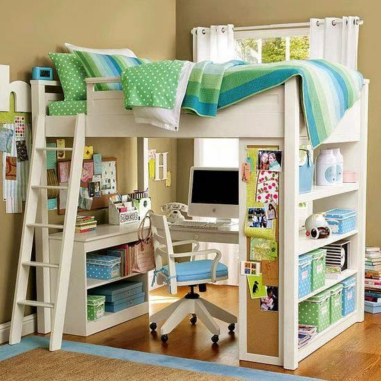 Perfect Study Area In Kids Rooms