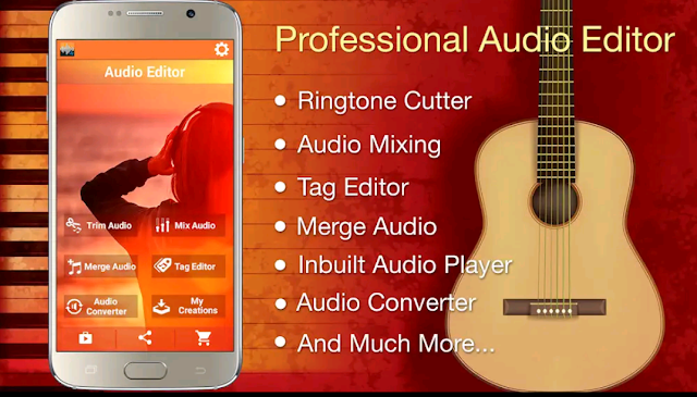 AUDIO MP3,MIX RINGTONE CUTTER AND CONVERTER 2020 BEST APP