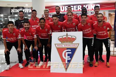 Fútbol Real Aranjuez Plantilla
