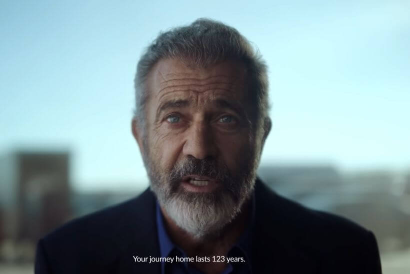 Mel Gibson appears in spot promoting Polish independence centenary