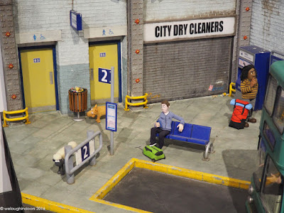 Bus Station Set from Shaun the Sheep Movie