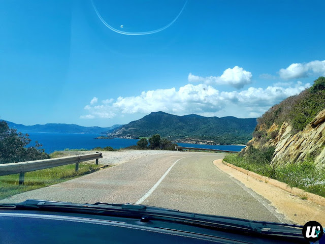 Viewpoint by the road, driving | Sardinia, Italy | wayamaya