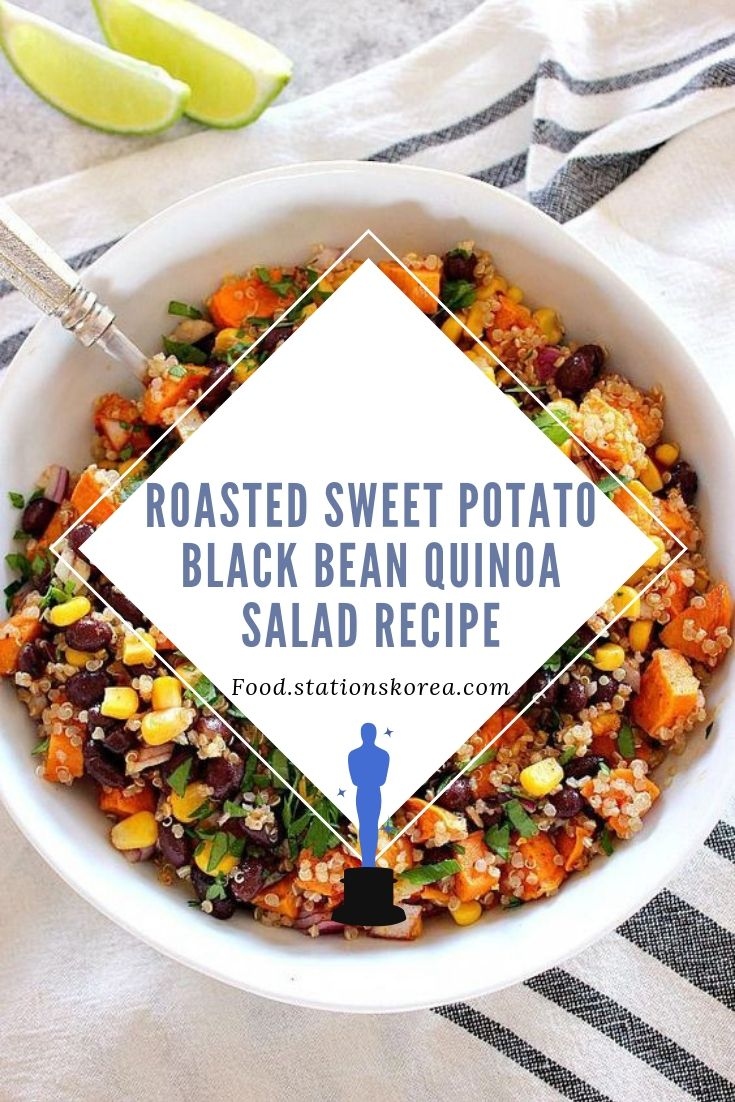 Roasted Sweet Potato Black Bean Quinoa Salad Recipe #healthyrecipeseasy #healthyrecipesdinnercleaneating #healthyrecipesdinner #healthyrecipesforpickyeaters #healthyrecipesvegetarian #HealthyRecipes #HealthyRecipes #recipehealthy #HealthyRecipes #HealthyRecipes&Tips #HealthyRecipesGroup  #food #foodphotography #foodrecipes #foodpackaging #foodtumblr #FoodLovinFamily #TheFoodTasters #FoodStorageOrganizer #FoodEnvy #FoodandFancies #drinks #drinkphotography #drinkrecipes #drinkpackaging #drinkaesthetic #DrinkCraftBeer #Drinkteaandread  #healthyrecipeseasy #healthyrecipesdinnercleaneating #healthyrecipesdinner #healthyrecipesforpickyeaters #healthyrecipesvegetarian #HealthyRecipes #HealthyRecipes #recipehealthy #HealthyRecipes #HealthyRecipes&Tips #HealthyRecipesGroup  #food #foodphotography #foodrecipes #foodpackaging #foodtumblr #FoodLovinFamily #TheFoodTasters #FoodStorageOrganizer #FoodEnvy #FoodandFancies #drinks #drinkphotography #drinkrecipes #drinkpackaging #drinkaesthetic #DrinkCraftBeer #Drinkteaandread