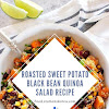 Roasted Sweet Potato Black Bean Quinoa Salad Recipe