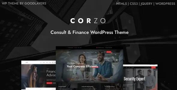 Best Consulting & Finance Company WordPress Theme