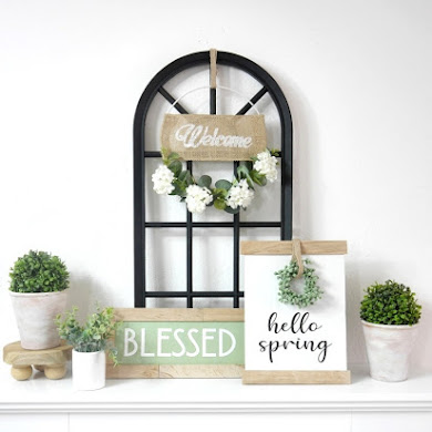 Farmhouse Trash To Treasure DIY Décor for Spring