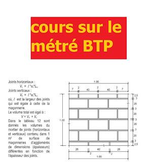 cours de métré gratuit pdf, cours de métré de bâtiment tous corps d'état pdf, cours métré /etude de prix pdf, cours de métré et devis pdf, méthode métré batiment, comment faire le métré d'un batiment,