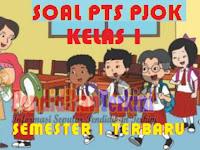 Soal PTS PJOK Kelas 1 SD/MI Semester 1 K13 dan Kunci Jawaban