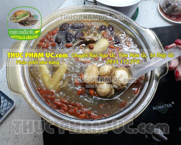nấu món canh bào ngư Úc dễ nấu