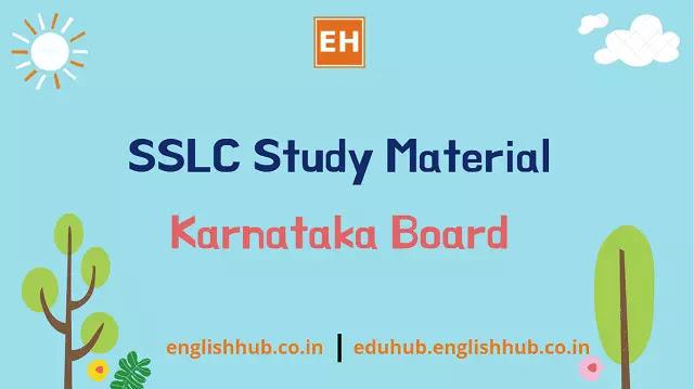 SSLC Online Study Material - Social Science (English Medium)