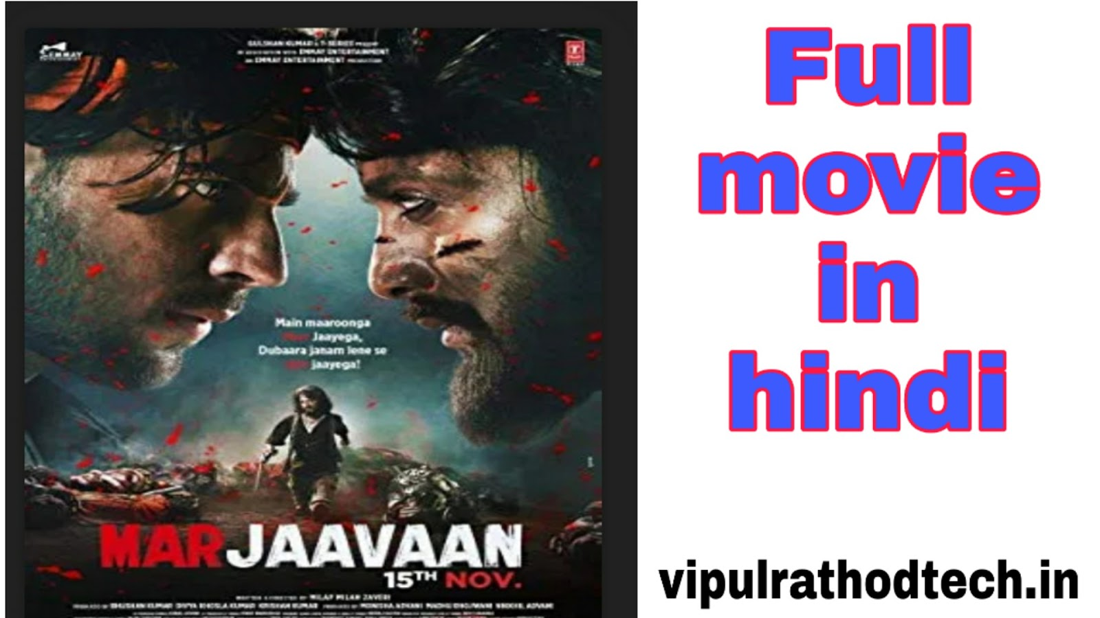 Marjaavaan Full Movie Download New Bollywood Hd Movie Download