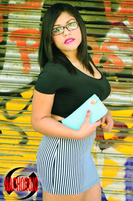 Fotografia de esterior para escort latina en Madrid