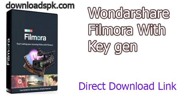 Wondershare Filmora Crack 10.2.0.31 With Key Gen Download