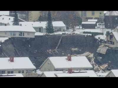 landslide in Norway
