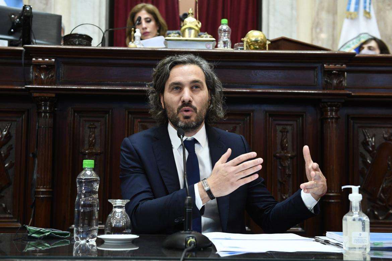 """Santiago Cafiero: """"Rodríguez Larreta insiste con actividades que no están permitidas en zonas de alarma"""""""