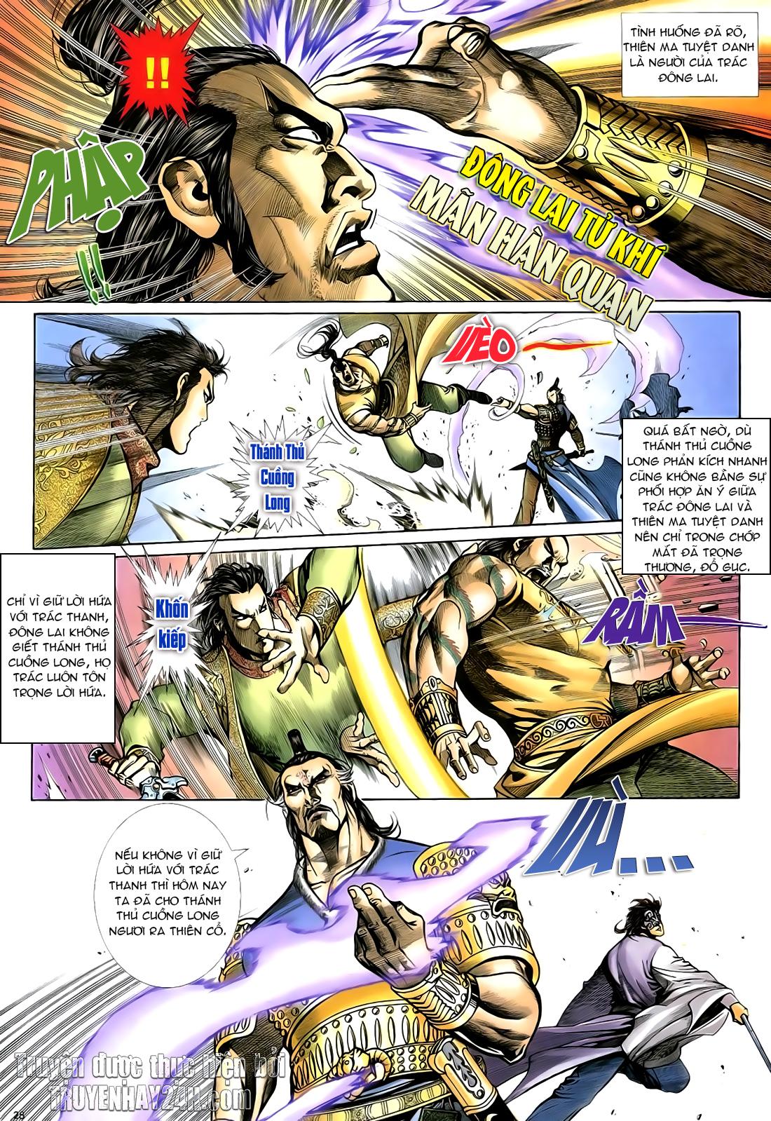 Anh hùng vô lệ Chap 23 trang 29