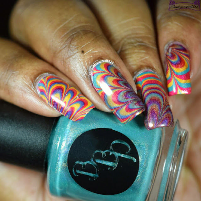 Watermarble Wednesdays Bad Bitch Polish Summer Playlist Holos