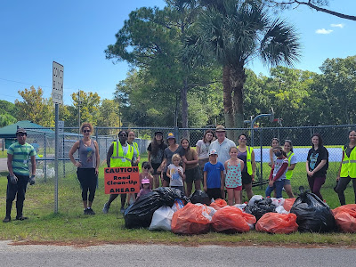 West Augustine Nature Society's Adopt-A-Road Clean-Up Event