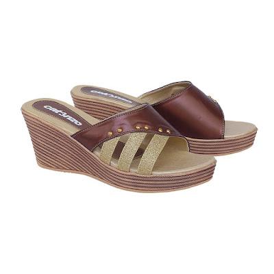 Sandal Wedges Wanita Catenzo ZA 035