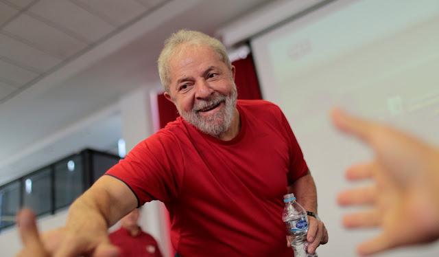 Lula diz estar tranquilo com julgamento: 'Tenho certeza que não cometi nenhum crime'