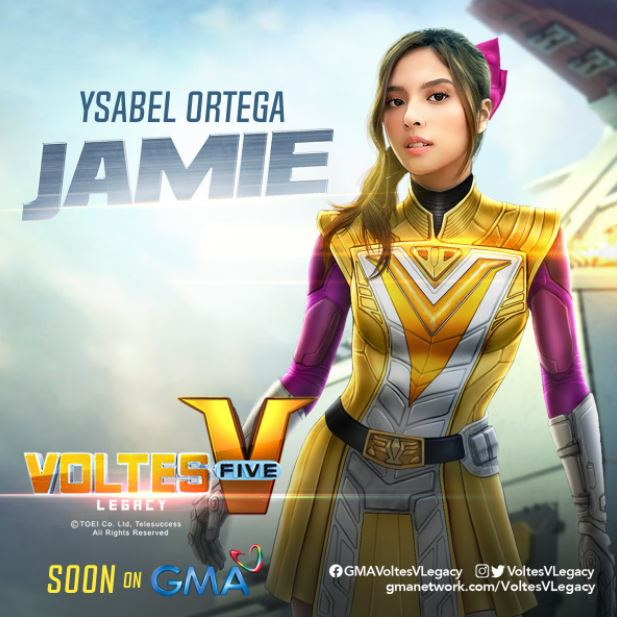 Ysabel Ortega as Jamie Robinson