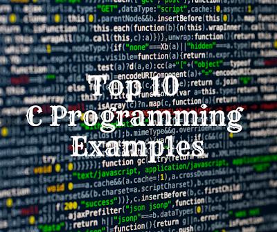 C programming examples/C programming examples with output