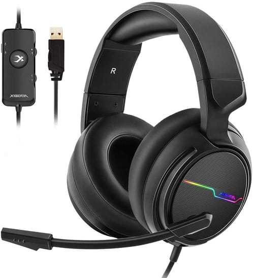 Review Jeecoo V20-USB Xiberia USB Pro Gaming Headset