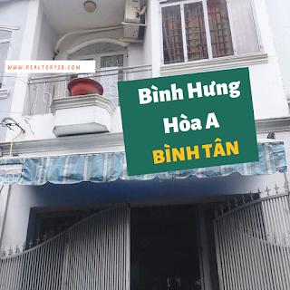 Bán nhà phường Bình Hưng Hòa A quận Bình Tân
