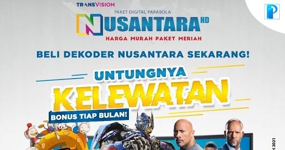 Promo Nusantara HD Bulan April 2021