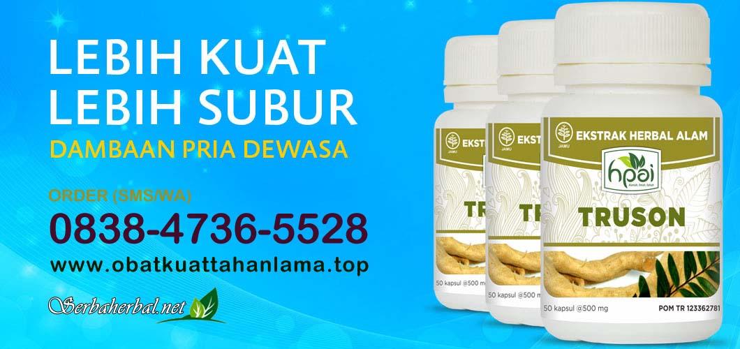 Obat Kuat Herbal TRUSON HPAI | Solusi Lemah Syahwat Pria Jaman NOW